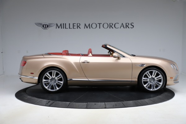 Used 2017 Bentley Continental GTC W12 for sale $165,900 at Alfa Romeo of Greenwich in Greenwich CT 06830 9