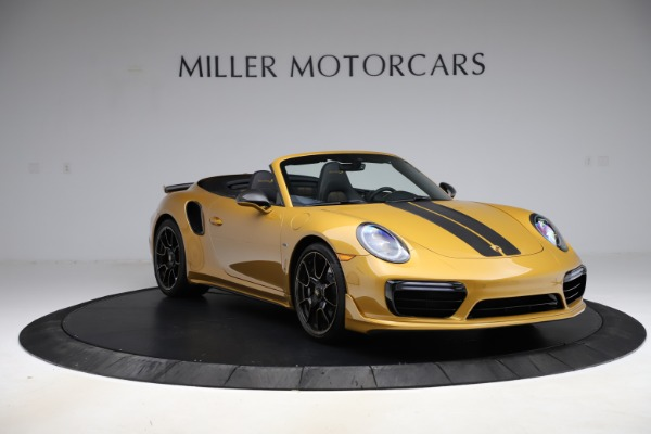 Used 2019 Porsche 911 Turbo S Exclusive for sale Sold at Alfa Romeo of Greenwich in Greenwich CT 06830 11