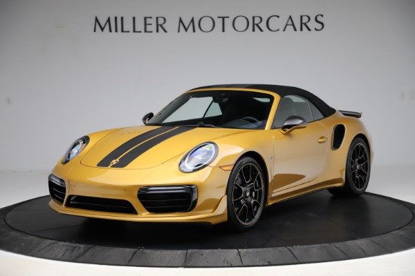 Used 2019 Porsche 911 Turbo S Exclusive for sale Sold at Alfa Romeo of Greenwich in Greenwich CT 06830 12