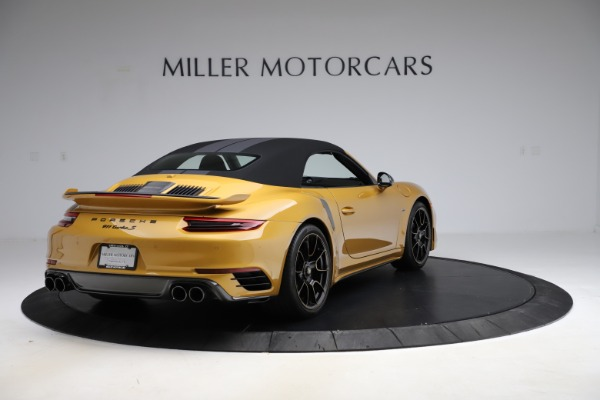 Used 2019 Porsche 911 Turbo S Exclusive for sale Sold at Alfa Romeo of Greenwich in Greenwich CT 06830 15