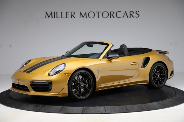 Used 2019 Porsche 911 Turbo S Exclusive for sale Sold at Alfa Romeo of Greenwich in Greenwich CT 06830 2