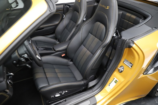 Used 2019 Porsche 911 Turbo S Exclusive for sale Sold at Alfa Romeo of Greenwich in Greenwich CT 06830 20