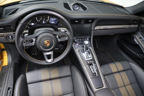 Used 2019 Porsche 911 Turbo S Exclusive for sale Sold at Alfa Romeo of Greenwich in Greenwich CT 06830 22