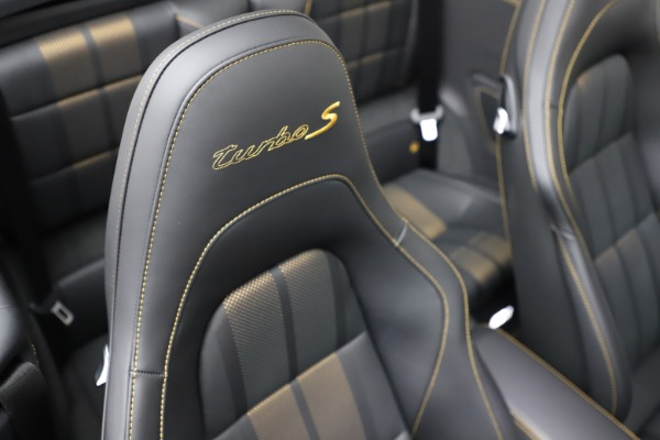 Used 2019 Porsche 911 Turbo S Exclusive for sale Sold at Alfa Romeo of Greenwich in Greenwich CT 06830 24