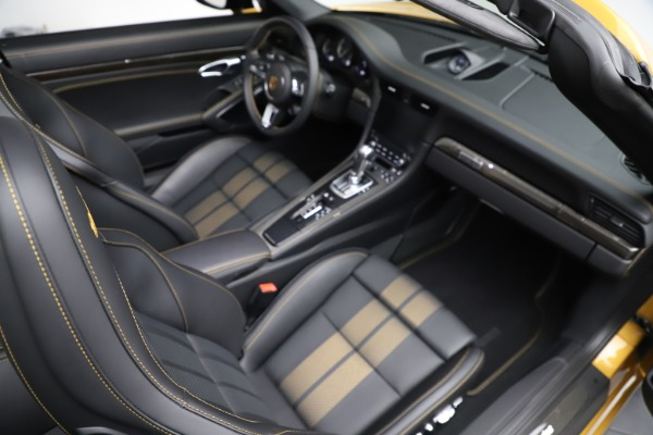 Used 2019 Porsche 911 Turbo S Exclusive for sale Sold at Alfa Romeo of Greenwich in Greenwich CT 06830 25