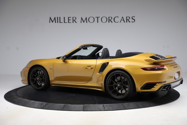 Used 2019 Porsche 911 Turbo S Exclusive for sale Sold at Alfa Romeo of Greenwich in Greenwich CT 06830 4
