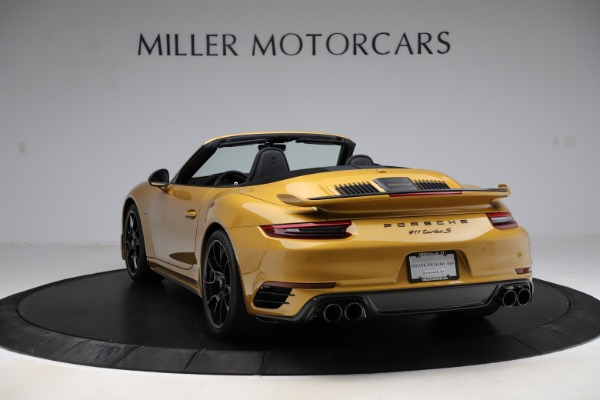 Used 2019 Porsche 911 Turbo S Exclusive for sale Sold at Alfa Romeo of Greenwich in Greenwich CT 06830 5