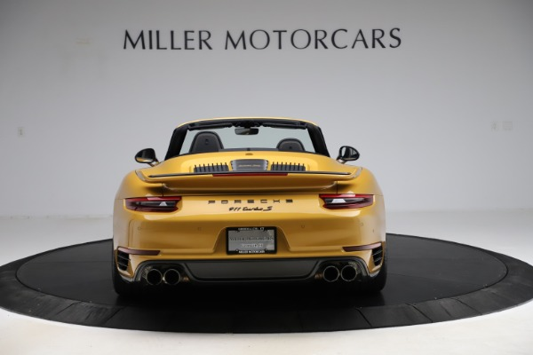 Used 2019 Porsche 911 Turbo S Exclusive for sale Sold at Alfa Romeo of Greenwich in Greenwich CT 06830 6