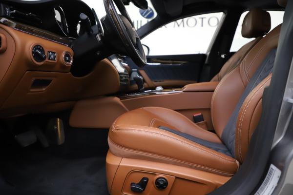 Used 2017 Maserati Quattroporte S Q4 GranLusso for sale $59,900 at Alfa Romeo of Greenwich in Greenwich CT 06830 14