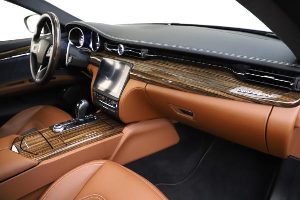 Used 2017 Maserati Quattroporte S Q4 GranLusso for sale $59,900 at Alfa Romeo of Greenwich in Greenwich CT 06830 22