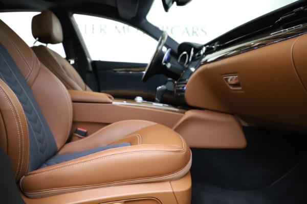 Used 2017 Maserati Quattroporte S Q4 GranLusso for sale $59,900 at Alfa Romeo of Greenwich in Greenwich CT 06830 23