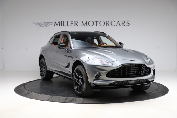 New 2021 Aston Martin DBX SUV for sale $229,486 at Alfa Romeo of Greenwich in Greenwich CT 06830 10