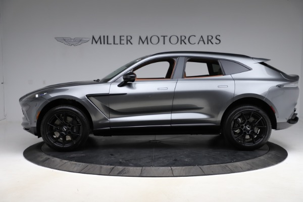 New 2021 Aston Martin DBX SUV for sale $229,486 at Alfa Romeo of Greenwich in Greenwich CT 06830 2