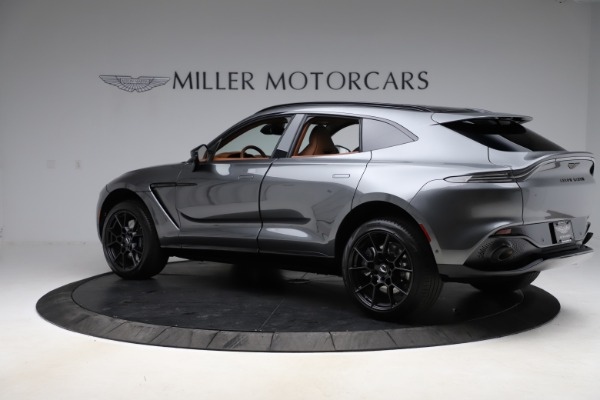 New 2021 Aston Martin DBX SUV for sale $229,486 at Alfa Romeo of Greenwich in Greenwich CT 06830 3
