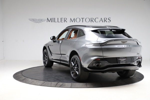 New 2021 Aston Martin DBX SUV for sale $229,486 at Alfa Romeo of Greenwich in Greenwich CT 06830 4