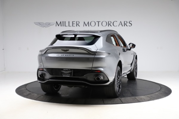 New 2021 Aston Martin DBX SUV for sale $229,486 at Alfa Romeo of Greenwich in Greenwich CT 06830 6