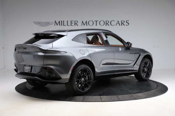 New 2021 Aston Martin DBX SUV for sale $229,486 at Alfa Romeo of Greenwich in Greenwich CT 06830 7