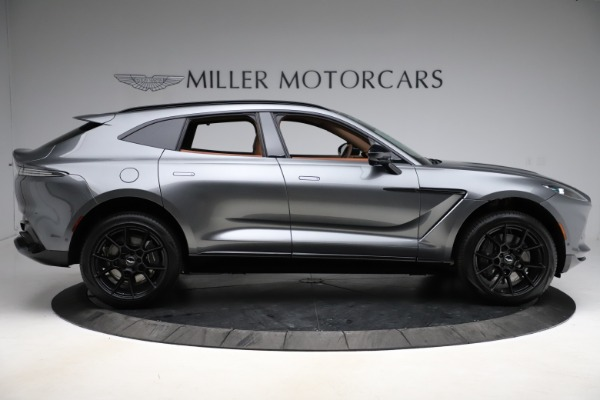 New 2021 Aston Martin DBX SUV for sale $229,486 at Alfa Romeo of Greenwich in Greenwich CT 06830 8
