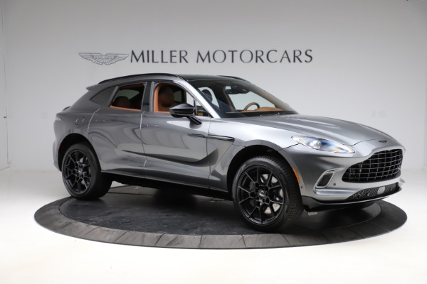 New 2021 Aston Martin DBX SUV for sale $229,486 at Alfa Romeo of Greenwich in Greenwich CT 06830 9