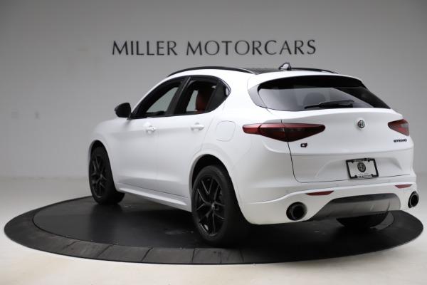 New 2020 Alfa Romeo Stelvio Ti Sport Q4 for sale Sold at Alfa Romeo of Greenwich in Greenwich CT 06830 5