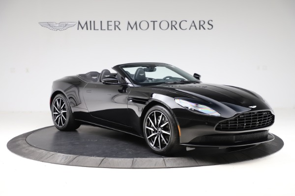 New 2021 Aston Martin DB11 Volante Convertible for sale $254,416 at Alfa Romeo of Greenwich in Greenwich CT 06830 10