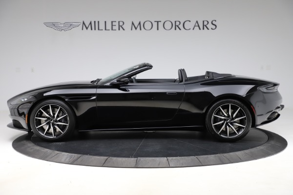 New 2021 Aston Martin DB11 Volante Convertible for sale $254,416 at Alfa Romeo of Greenwich in Greenwich CT 06830 2