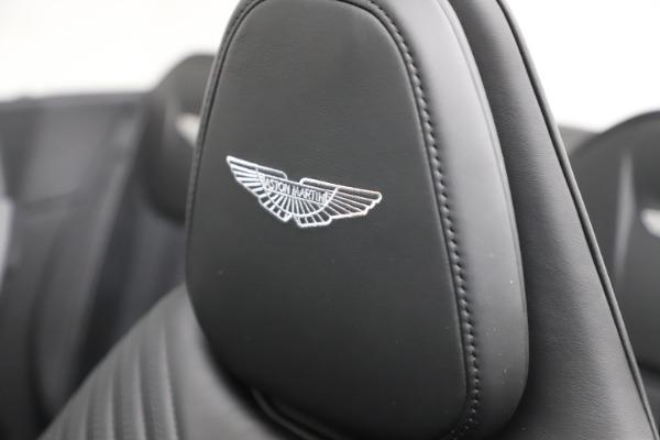 New 2021 Aston Martin DB11 Volante for sale $254,416 at Alfa Romeo of Greenwich in Greenwich CT 06830 23