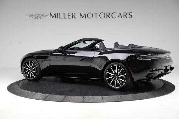 New 2021 Aston Martin DB11 Volante Convertible for sale $254,416 at Alfa Romeo of Greenwich in Greenwich CT 06830 3