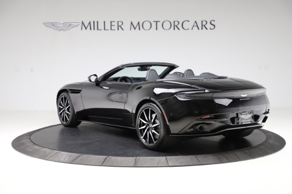 New 2021 Aston Martin DB11 Volante Convertible for sale $254,416 at Alfa Romeo of Greenwich in Greenwich CT 06830 4