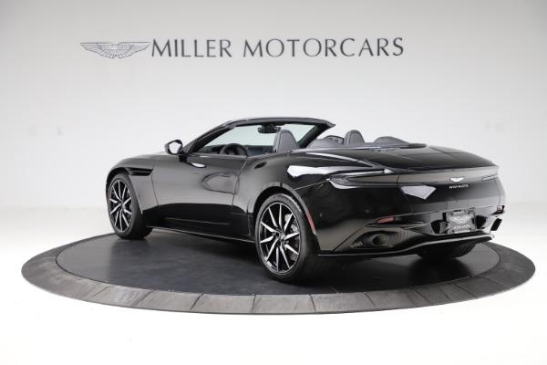 New 2021 Aston Martin DB11 Volante for sale $254,416 at Alfa Romeo of Greenwich in Greenwich CT 06830 4