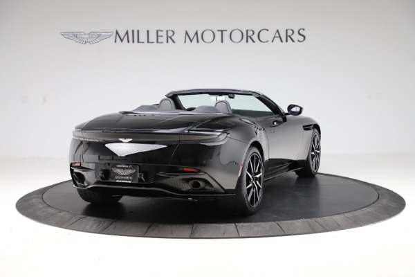 New 2021 Aston Martin DB11 Volante Convertible for sale $254,416 at Alfa Romeo of Greenwich in Greenwich CT 06830 6
