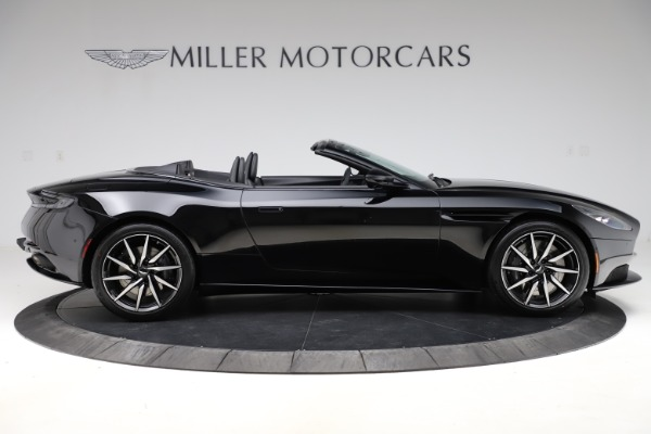 New 2021 Aston Martin DB11 Volante Convertible for sale $254,416 at Alfa Romeo of Greenwich in Greenwich CT 06830 8