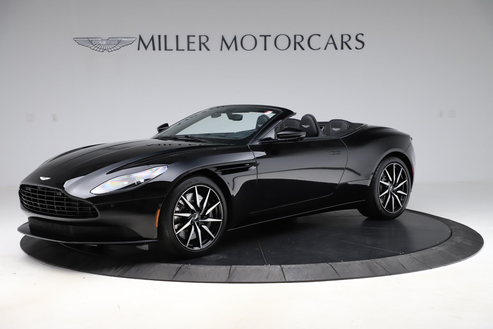 New 2021 Aston Martin DB11 Volante for sale $254,416 at Alfa Romeo of Greenwich in Greenwich CT 06830 1