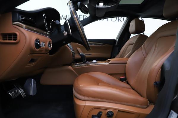 Used 2018 Maserati Quattroporte S Q4 GranLusso for sale $69,900 at Alfa Romeo of Greenwich in Greenwich CT 06830 14