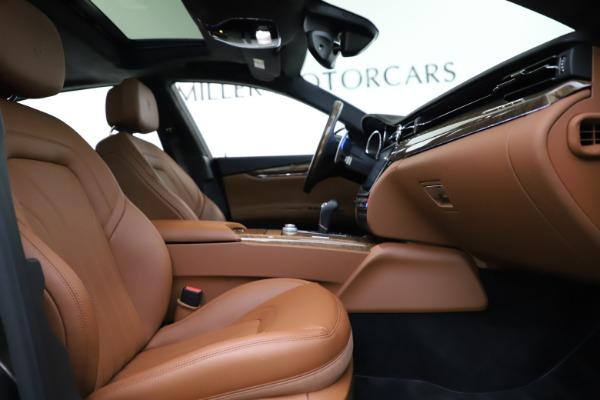 Used 2018 Maserati Quattroporte S Q4 GranLusso for sale $69,900 at Alfa Romeo of Greenwich in Greenwich CT 06830 24
