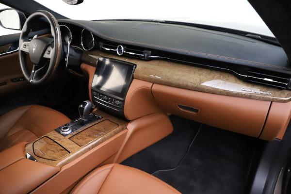 Used 2018 Maserati Quattroporte S Q4 GranLusso for sale $69,900 at Alfa Romeo of Greenwich in Greenwich CT 06830 25