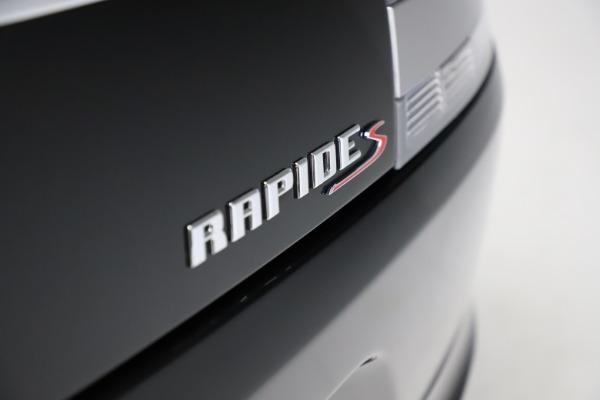 Used 2016 Aston Martin Rapide S for sale $123,900 at Alfa Romeo of Greenwich in Greenwich CT 06830 27