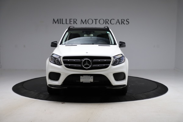 Used 2018 Mercedes-Benz GLS 550 for sale $67,900 at Alfa Romeo of Greenwich in Greenwich CT 06830 12