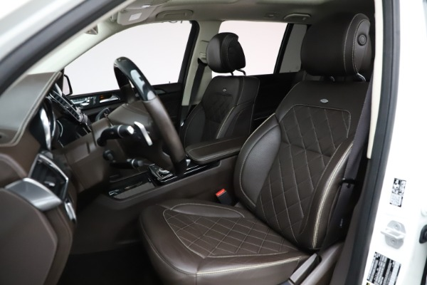 Used 2018 Mercedes-Benz GLS 550 for sale $67,900 at Alfa Romeo of Greenwich in Greenwich CT 06830 18