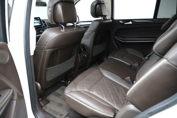 Used 2018 Mercedes-Benz GLS 550 for sale $67,900 at Alfa Romeo of Greenwich in Greenwich CT 06830 19