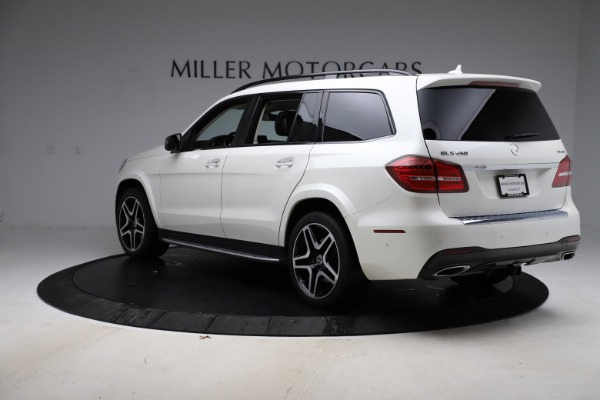 Used 2018 Mercedes-Benz GLS 550 for sale $67,900 at Alfa Romeo of Greenwich in Greenwich CT 06830 5