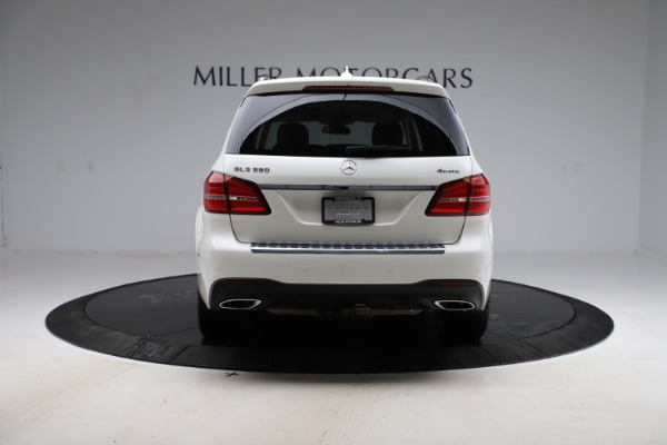 Used 2018 Mercedes-Benz GLS 550 for sale $67,900 at Alfa Romeo of Greenwich in Greenwich CT 06830 6