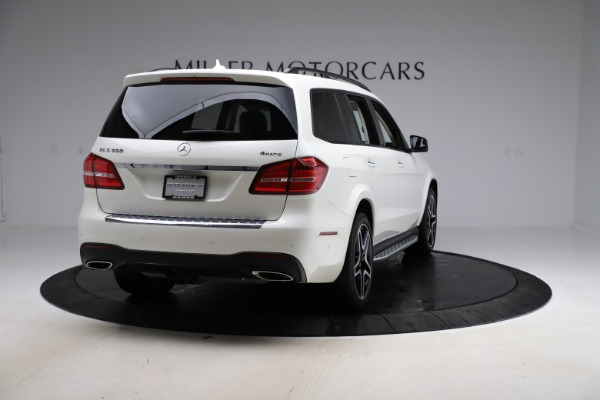 Used 2018 Mercedes-Benz GLS 550 for sale $67,900 at Alfa Romeo of Greenwich in Greenwich CT 06830 7