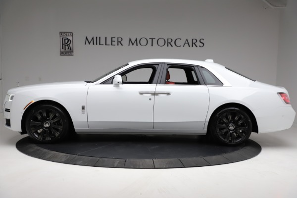 New 2021 Rolls-Royce Ghost for sale $390,400 at Alfa Romeo of Greenwich in Greenwich CT 06830 4
