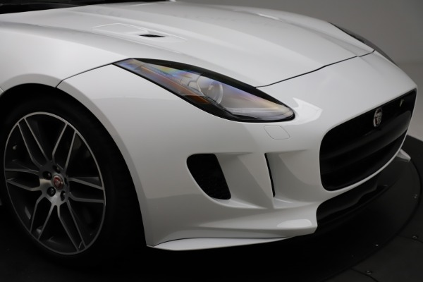 Used 2016 Jaguar F-TYPE R for sale Sold at Alfa Romeo of Greenwich in Greenwich CT 06830 27