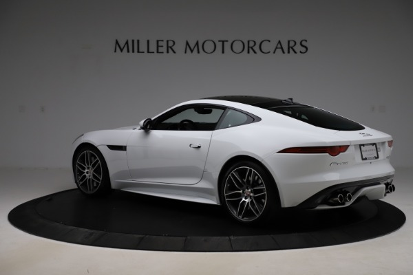 Used 2016 Jaguar F-TYPE R for sale Sold at Alfa Romeo of Greenwich in Greenwich CT 06830 4