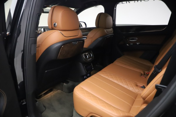 Used 2017 Bentley Bentayga W12 for sale $126,900 at Alfa Romeo of Greenwich in Greenwich CT 06830 22