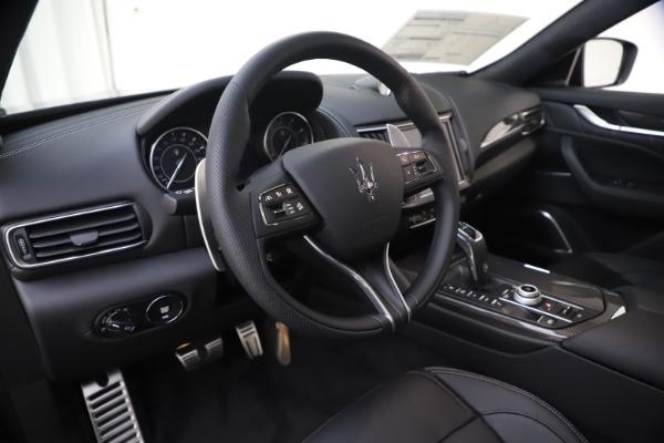 New 2021 Maserati Levante S Q4 GranSport for sale $107,135 at Alfa Romeo of Greenwich in Greenwich CT 06830 13