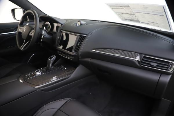 New 2021 Maserati Levante S Q4 GranSport for sale $107,135 at Alfa Romeo of Greenwich in Greenwich CT 06830 25
