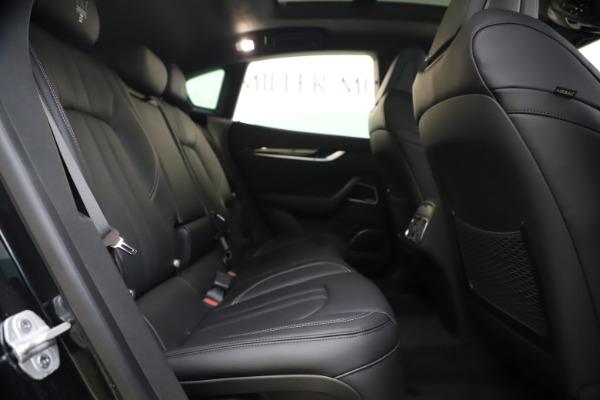 New 2021 Maserati Levante S Q4 GranSport for sale $107,135 at Alfa Romeo of Greenwich in Greenwich CT 06830 28